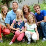 Helping Hands@Home, owner, Kristi Kellen and her family